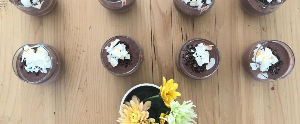 framboos chlorella smoothie
